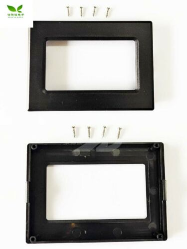 1pc 12864 Lcd Display Case Instrument Abs Flame Retardant Plastic Frame