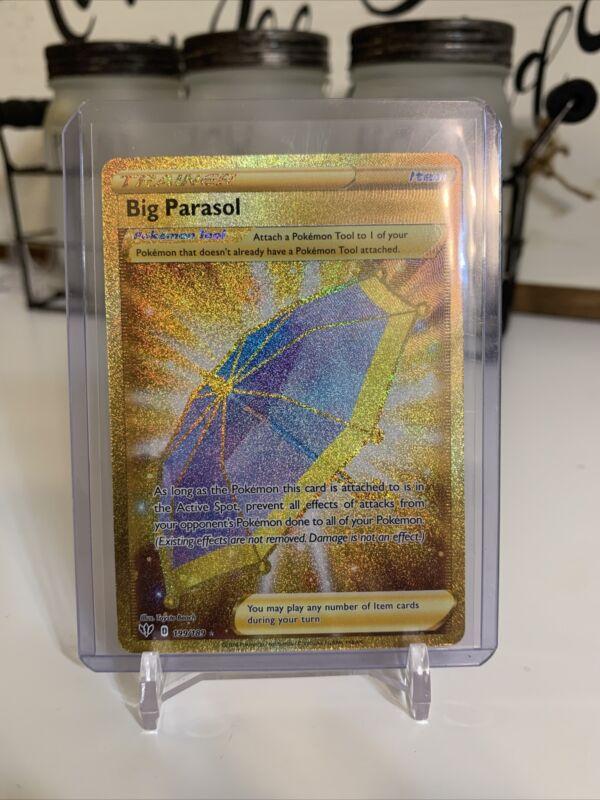 Big Parasol Trainer 199/189 Darkness Ablaze Secret Ultra Rare Full Art Nm/m
