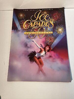 1989 Ice Capades Souvenir Program, 50th ANNIVERSARY! Super Mario Bros. Ad