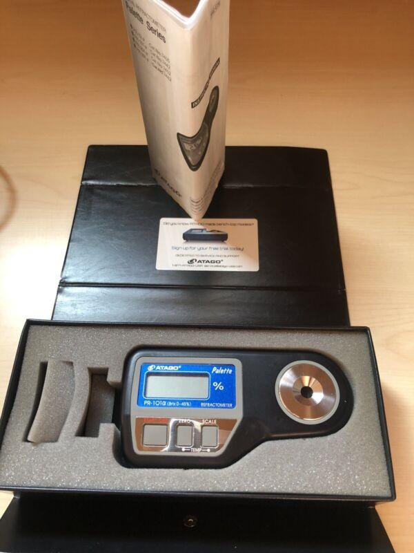 atago refractometer pr-101