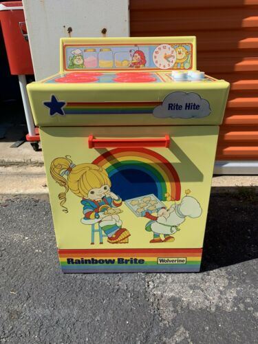 Vintage Rainbow Brite Kitchen Play Set Stove 1980s
