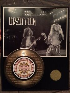 Led Zeppelin 24kt Gold Record (1of500)