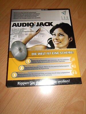 Audio Jack -  neu - original verpackt