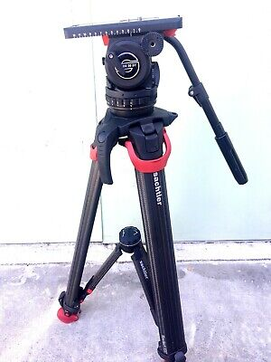 Sachtler System 20 S1 With Flowtech 100 MS Carbon Fiber Tripod  for sale  Shipping to India