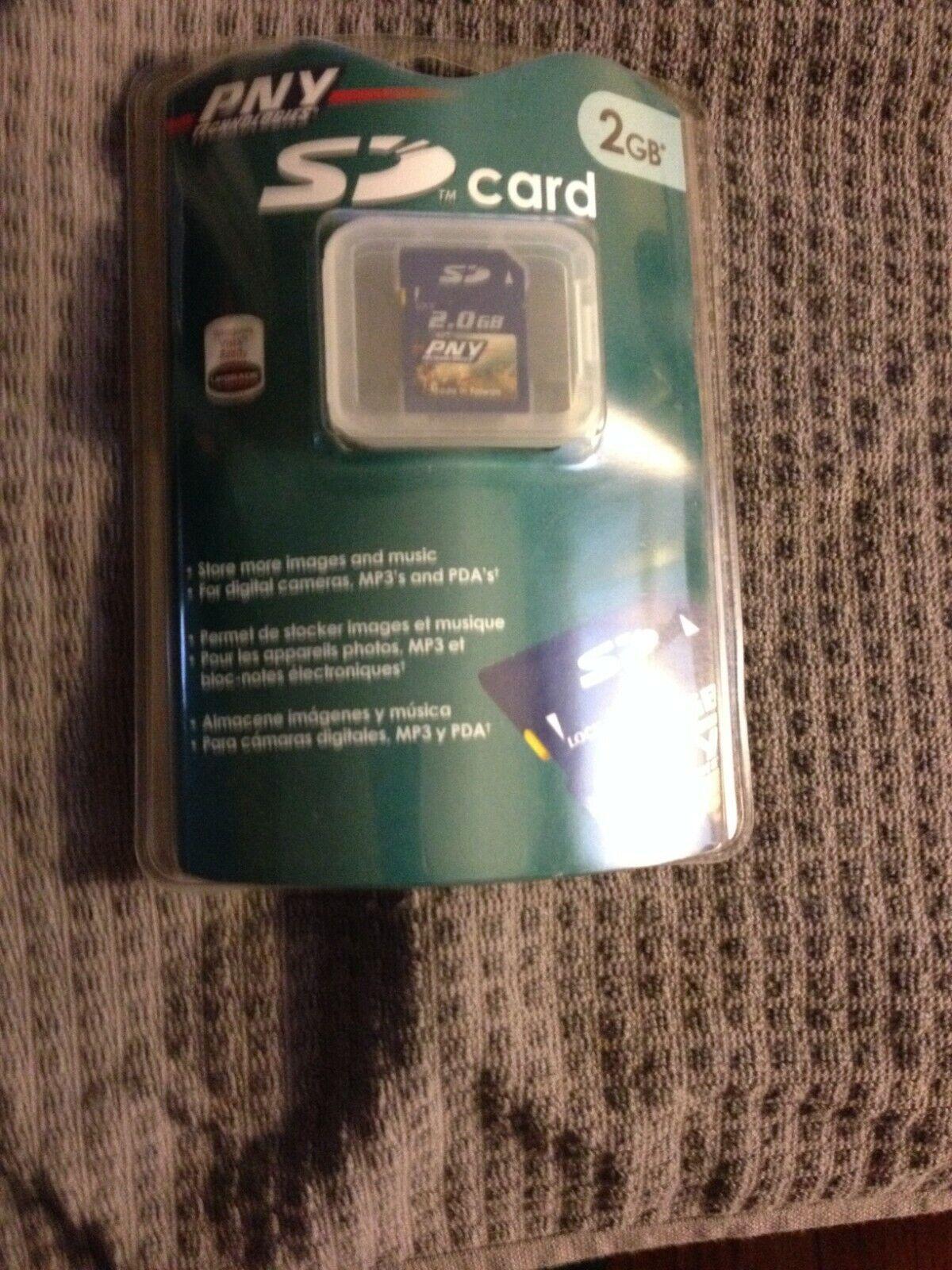 technologies 2gb sd card p sd2g rf3
