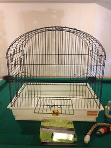 Large bird cage with all the accessories