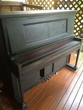 Brewster Pianola with around 60 music rolls included Seven Hills Blacktown Area Preview