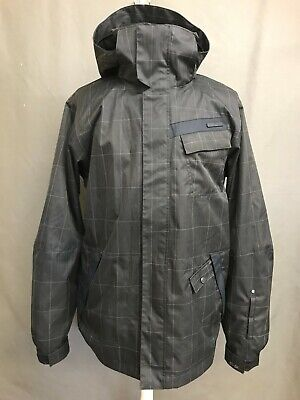 O'Neill Fifty2 Series Snowboard Jacket Black Size XL