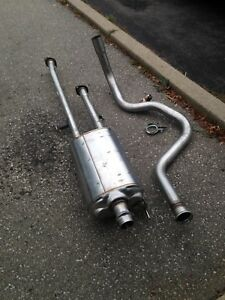Muffler and exhaust for Toyota Tundra