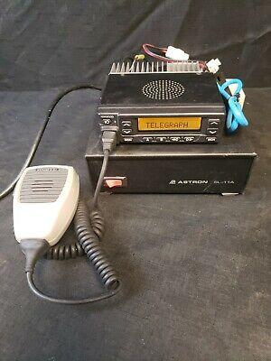 Kenwood Tk-980 800mhz Cb Base Transceiver Radio Astron Sl11a Power Supply Mic