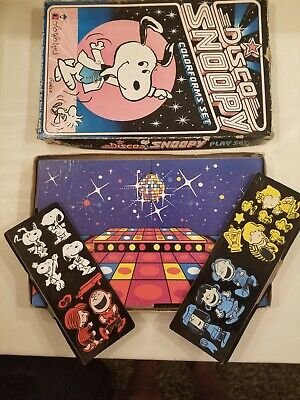 Vtg 1978 Colorforms Set DISCO SNOOPY Charlie Brown Peanuts Shulz Characters W@W