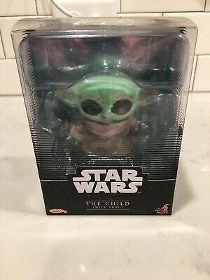 Star Wars The Mandalorian Figure Disney COSBABY HOT TOYS Grogu Child yoda frog