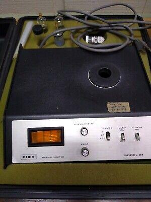 Monitek Model 21 Nephelometer