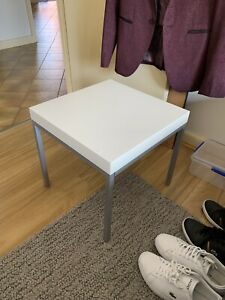 NEED GONE THIS WEEKEND Small corner side table white