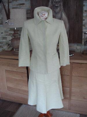 Limonengrün :) Gr. 36 Baumwollleinen Glockenr.Blazer Bubikra. (Baum Kostüm)