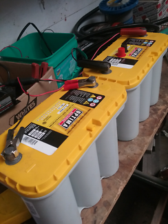 Optima yellow top d31A deep cycle starter battery x 2. Brand new.