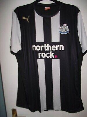 newcastle united no 9 tc 2011 northern rock football shirt size xl good  cond image