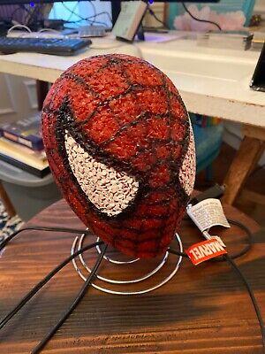SPIDER-MAN KIDS NIGHT LIGHT BOBBLE HEAD LAMP BEDROOM NIGHTLIGHT SPIDERMAN EUC