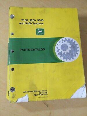 John Deere 9100 9200 9300 And 9400 Tractors Parts Catalog