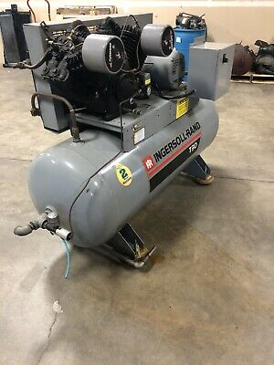 Pre-owned Ingersoll Rand T30 Air Compressor 2 Stage 10 Hp 230460vac 3-ph.