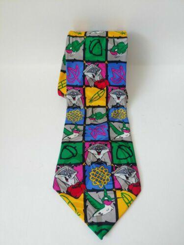 Vintage Disney Store Tie Pocahontas Meeko Flit