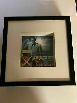 K) Sean Connery James Bond 007 Aston Martin Spy Thriller Framed Wall Shadowbox