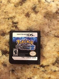 Nintendo DS Pokemon Black Version 2