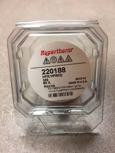 Genuine Hypertherm 220188 Nozzle 80 Amp HPR HPRXD