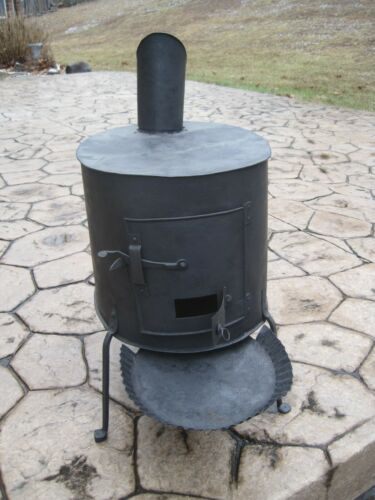 Early American Shaker Wood Stove