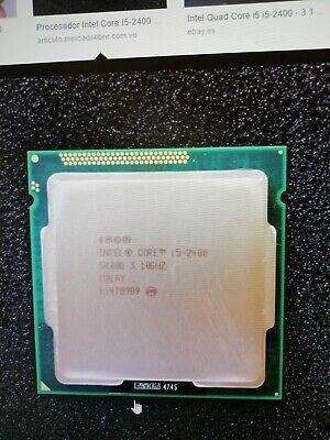 Usado, Procesador Intel Core i5 2400 segunda mano  Embacar hacia Mexico