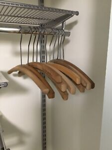 Single Wooden Clothes Hangers