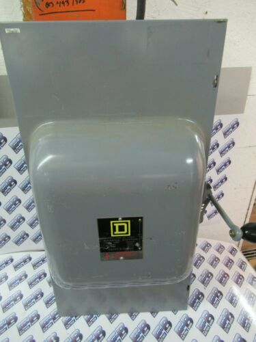 SQUARE D 82254, Series E, 200 Amp, 240 Volt, 2 Pole, Double Throw Switch - ATS53