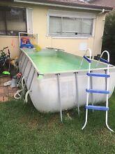 Steel frame pool huge Fairfield Heights Fairfield Area Preview