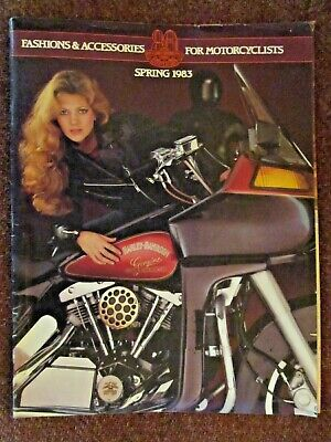 Harley-Davidson 1983 Clothing, Collectibles & Motorcycle Accessories Catalog
