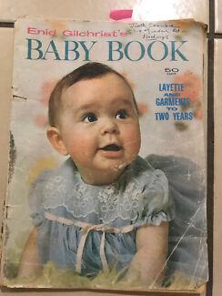 Patterns assorted vintage infant and adult