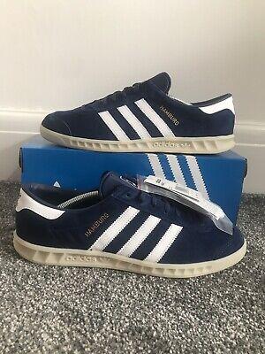 Adidas Originals Hamburg blue Size UK 10