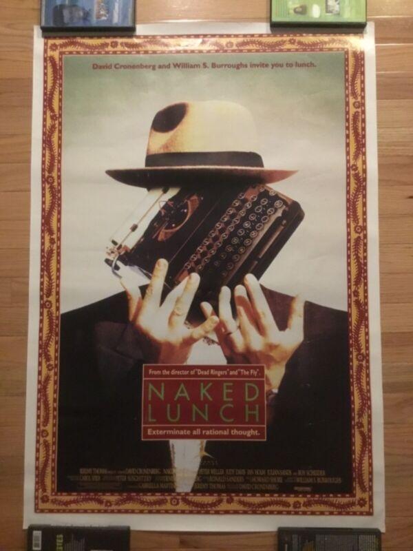 original Naked Lunch poster Cronenberg 1991