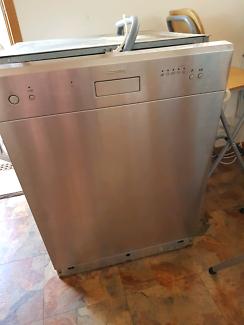 Smeg Dishwasher stainless steel finish