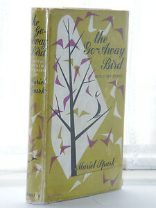 Muriel-Spark-The-Go-Away-Bird-1st-Edition-1958-HB-DJ