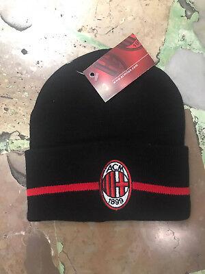 1 Hut AC Milan Wolle Cap Rajaraman Offiziel Wolle Hat Mis.unica Scheitelkäppchen