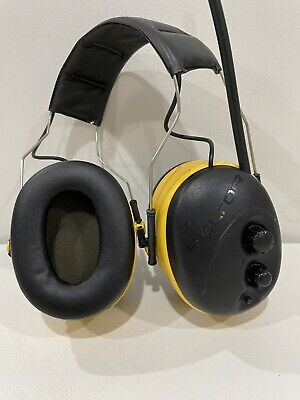 Ao Safety Peltor Worktunes Am Fm Radio Headphones Ear Muffs Hear Protection