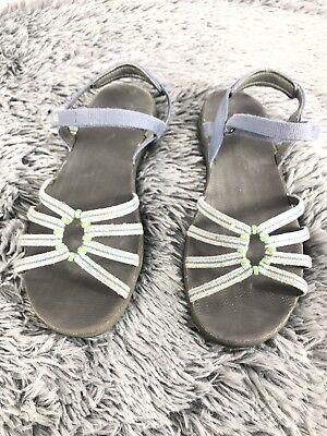 d158e261a TEVA Kayenta Women s 6310 Blue   Green Strappy Ankle Strap Sandals Size  7.5M for sale