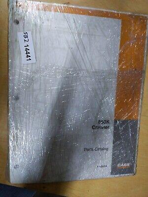 Case 850k Crawler Parts Catalog