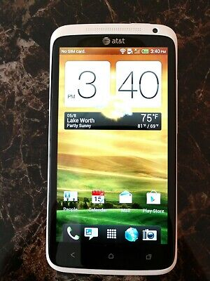 HTC One X 16GB White (AT&T) Smartphone