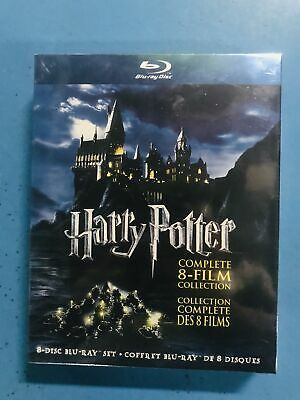 Harry Potter:Complete 8-Film Moive Collection Blu-ray Disc, 2011, 8-Disc Set NEW