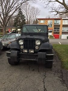 Jeep cj7 8 cylindres