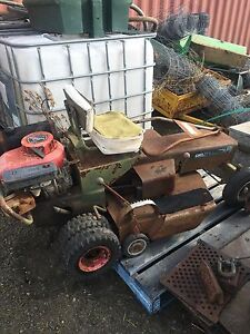 Doscher ride on mower Berrima Bowral Area Preview