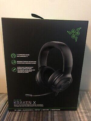 NEW Razer Kraken X Ultralight 7.1 Surround Wired Gaming Headset PC / XBOX /PS4