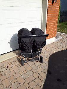 Poussette double City mini GT par Baby jogger