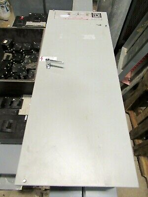 Square D 8901ng400-3-480 400 Amp 480 Volt Automatic Transfer Switch- Ats348
